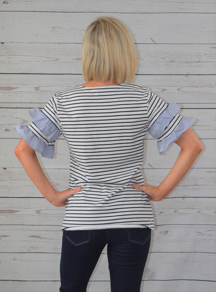 Striped Perfection Top