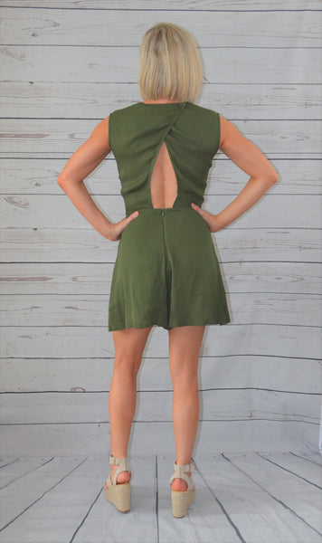 Graceful Bowknot Romper