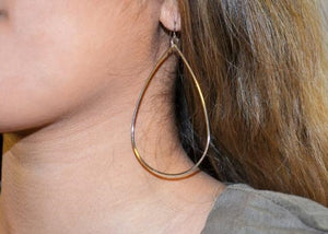All Teared Up Earrings - Gold