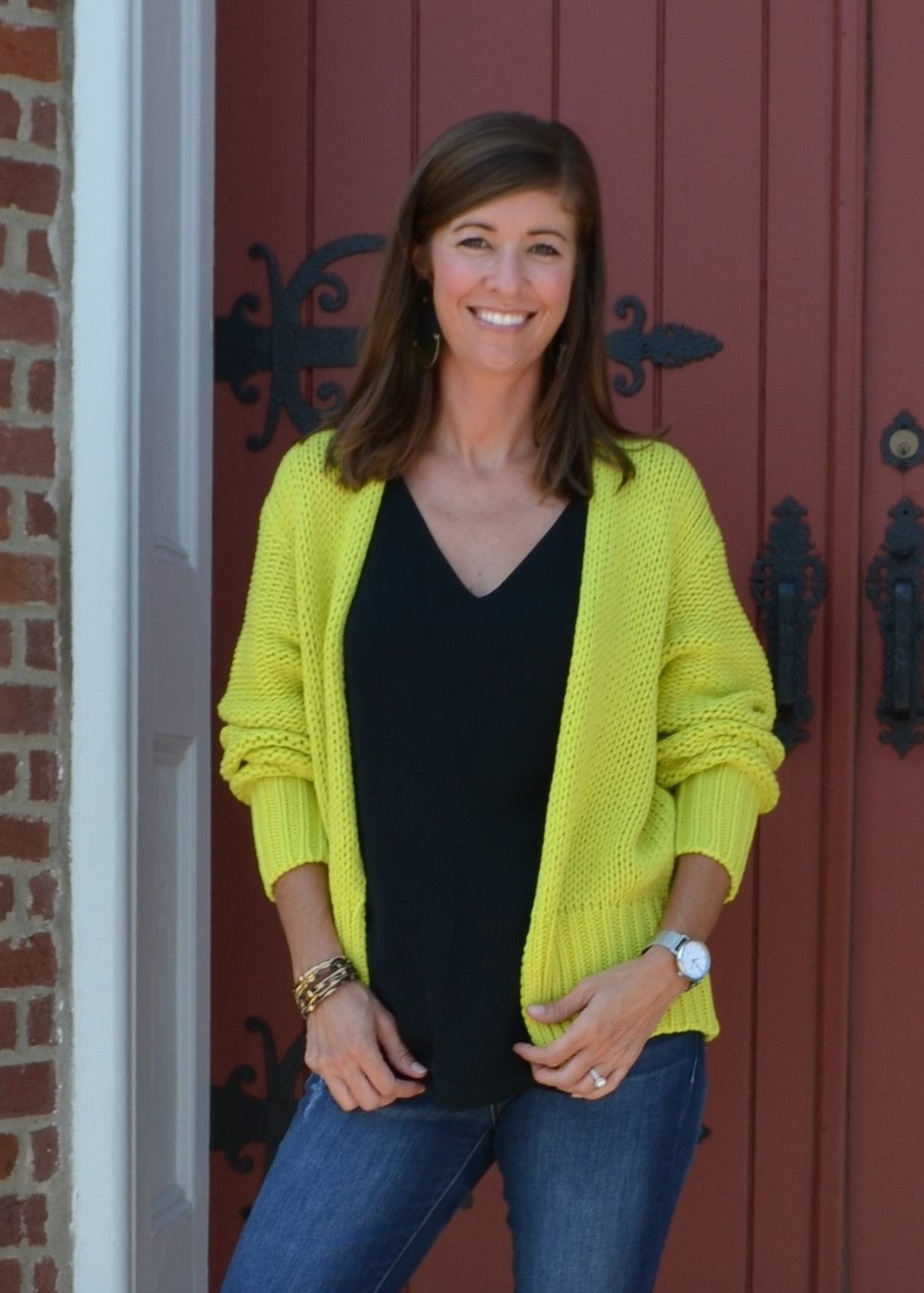 Bright Eye Key Lime Cardigan