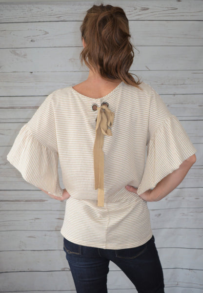 Tie Me a Bow Loose Fit Top