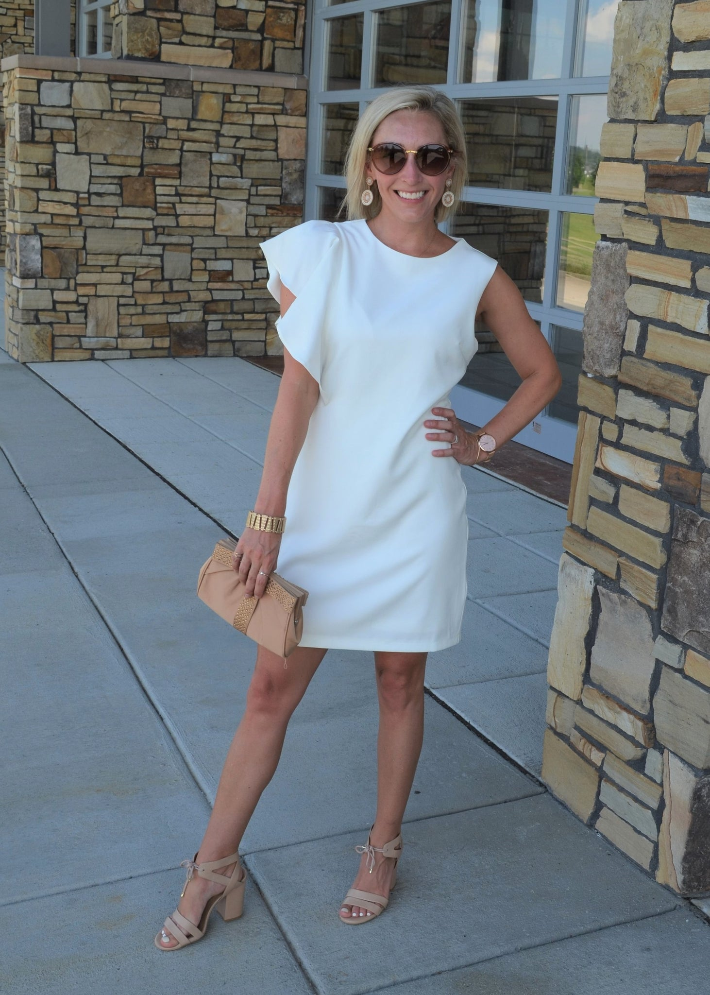All About the Details Creamy White Dress