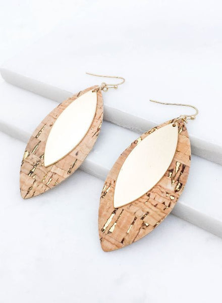 Pop the Cork Earrings