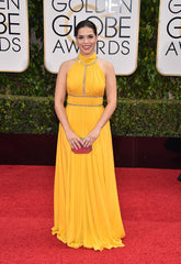 America Ferrera wears Jenny Packham to the 73rd Annual Golden Globe Awards