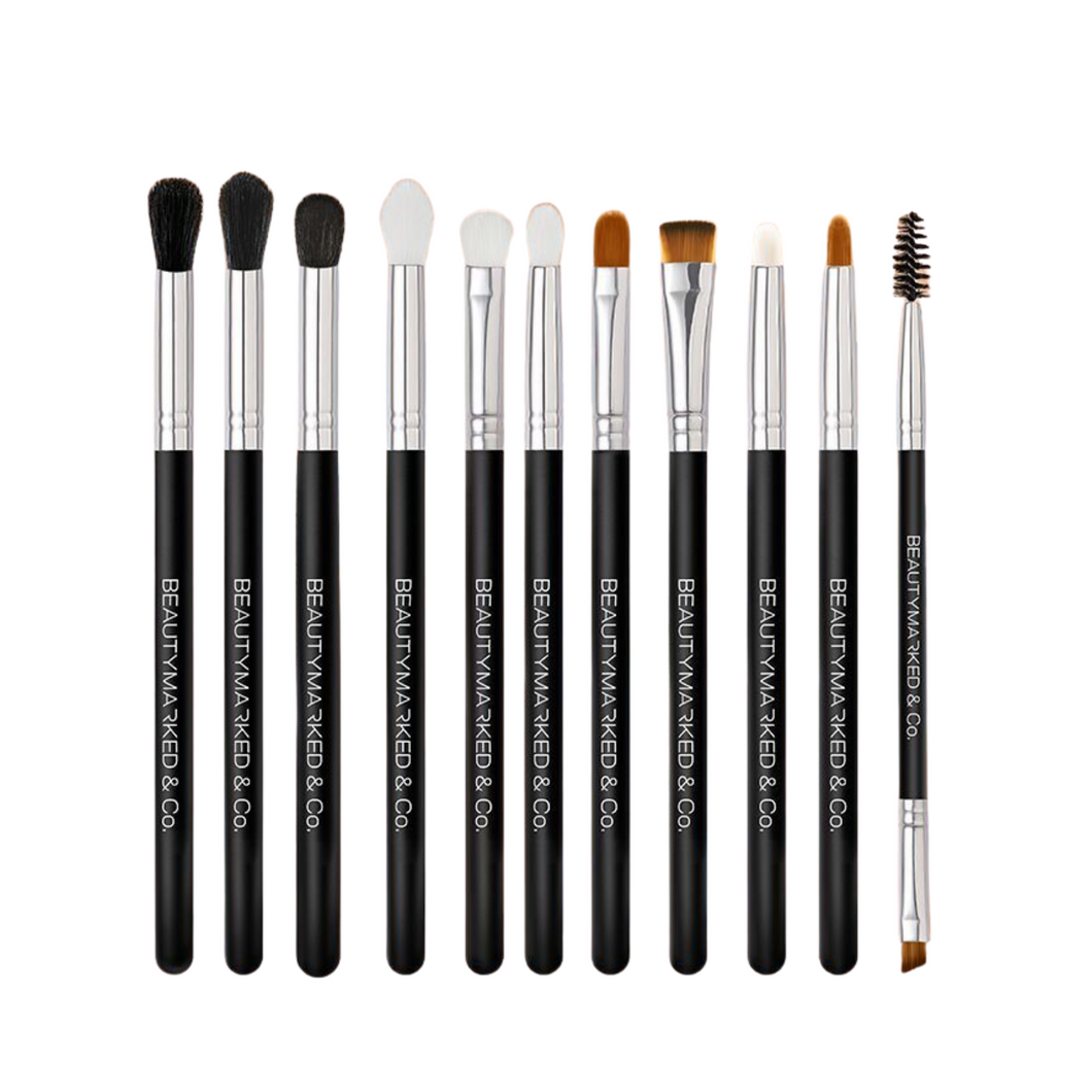 11-Piece Eye & Lip Brush Set
