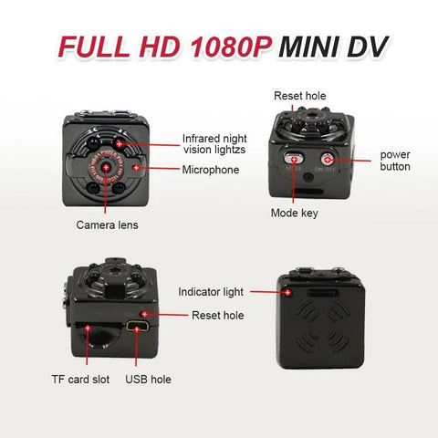 Image of HD 1080P Mini Body Camera