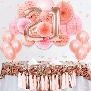 21st birthday decorations 37 pcs
