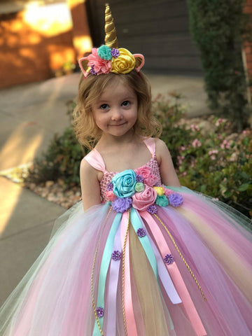 Image of Unicorn Tutu Dress