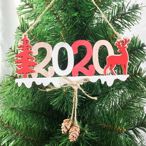 2020-XMAS-New-Year-Wooden-Ornaments