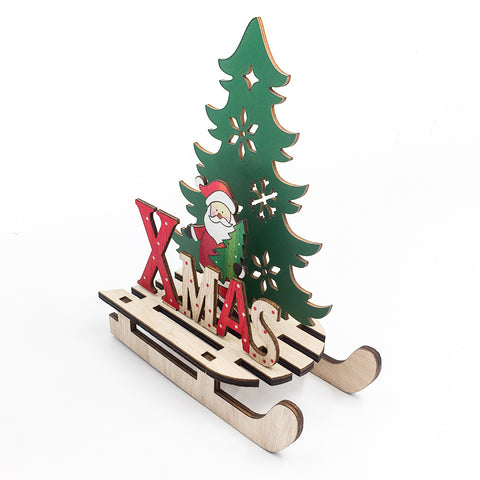 Image of Wooden-Christmas-Pendant