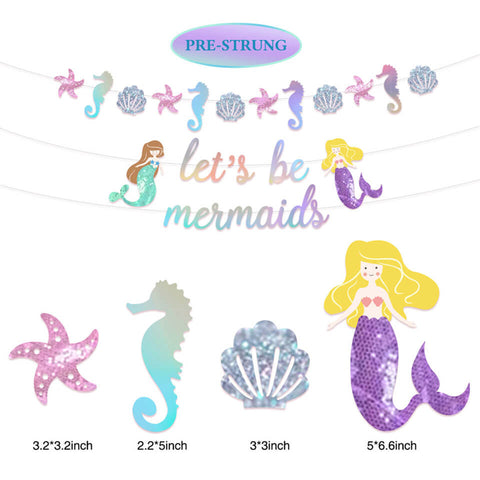 Image of Mermaids-Party-Decoration-Kit