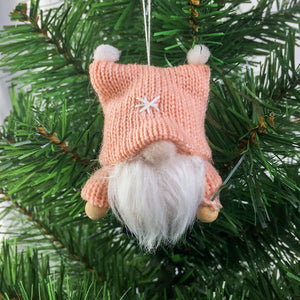 Cloth Christmas Tree Pendants Faceless Doll | Nicro Party