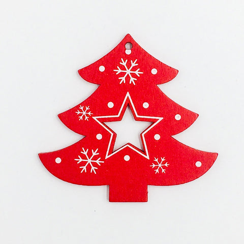 Image of Wooden-Christmas-Tree-Pendant