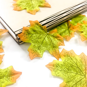 Artifical Maple Leaves