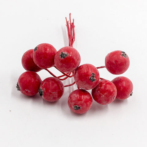Image of 10 pcs/bundle Artificial Berries Cherry | Nicro Party