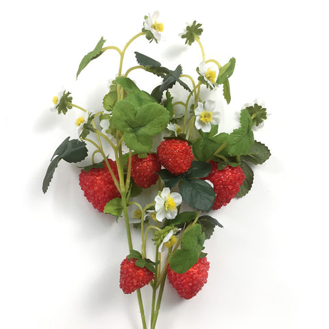 Image of 9 Head Artifical Fruit  Strawberry