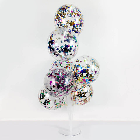 Image of 7 Heads Balloons Column Stand | Nicro Party