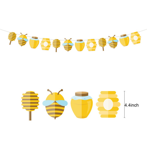Image of Bee Party Decoration Kit