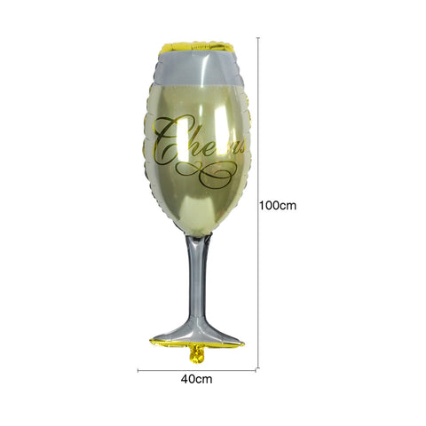 Image of Champagne Cup Beer Bottle Balloons | Nicro Party