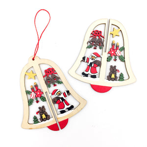 Christmas 3D Wooden Pendants | Nicro Party