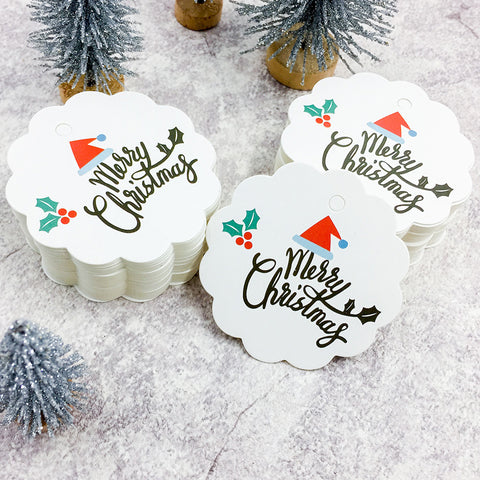 100 PCS Christmas Paper Tags | Nicro Party