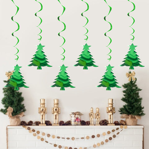 Christmas Tree Spiral Ornaments | Nicro Party