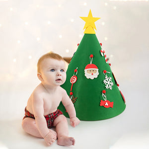DIY Felt Toddler Christmas Tree