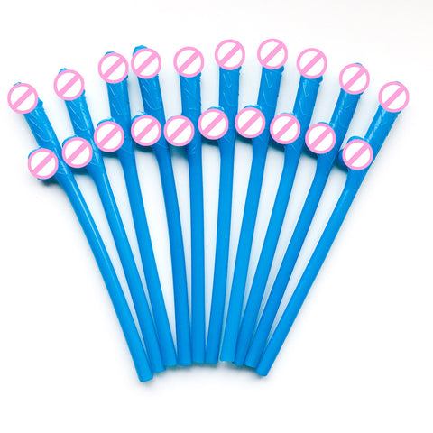 Image of 10 pcs/set Drinking Penis Straws