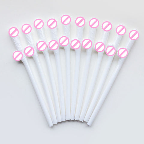 10 pcs/set Drinking Penis Straws