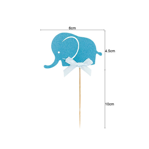 Image of Elephant Baby Shower Gender Reveal Party Decoration | Nicro Party
