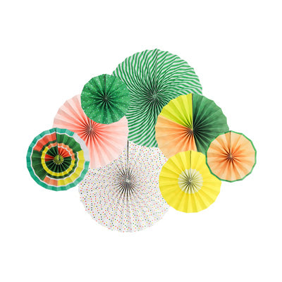 Image of 6 or 8 pcs/set Party Paper Fans   | Nicro Party