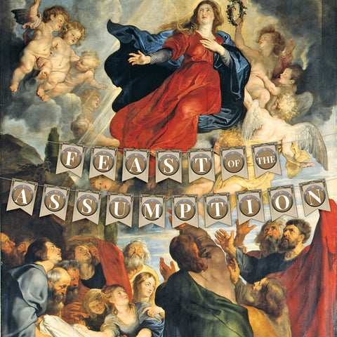 Image of Feast of the Assumption Banner