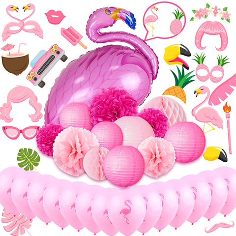 Image of Flamingo Party Decoration Kit
