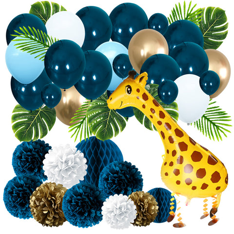 Giraffe Forest Theme Party Kit