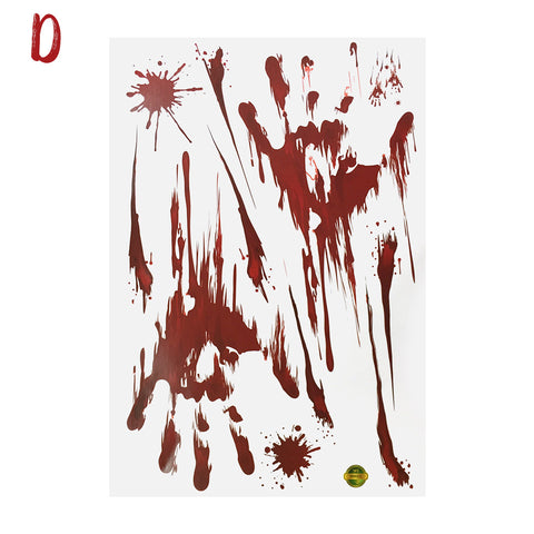 Image of Halloween Blood Handprint Sticker | Nicro Party