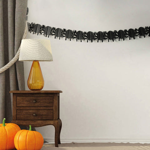Image of Halloween Spider Paper Garland