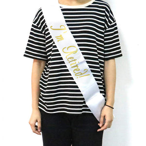 I'm Retired Retirement Sash | Nicro Party