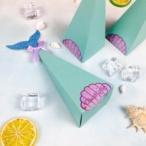 Mermaid Party Candy Boxes
