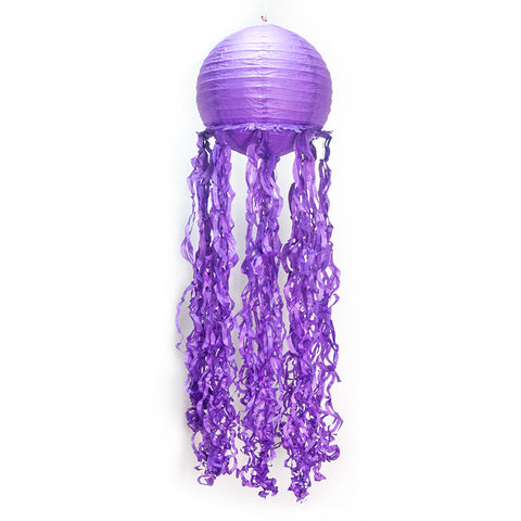 Image of 3 pcs/set Mermaid Wishes Hanging Jelly Fish Paper Lanterns