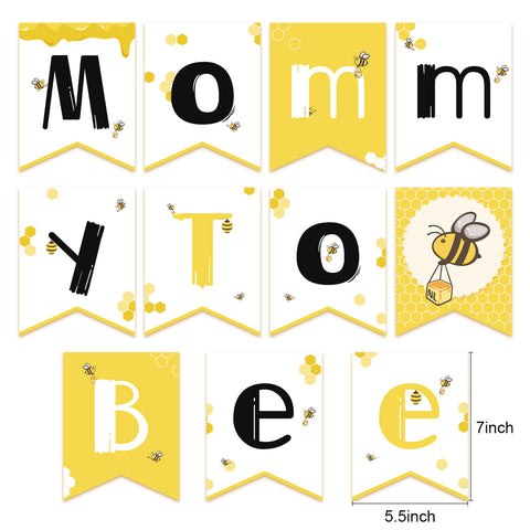 Image of Mommy To Bee  banner