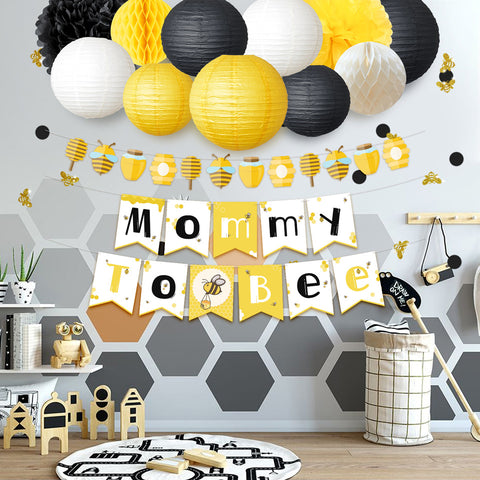 Image of Mommy To Bee  Baby Shower Set  Occasion