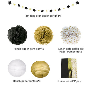 New Year 2020 Gold Party Decoration Kit | Nicro Party