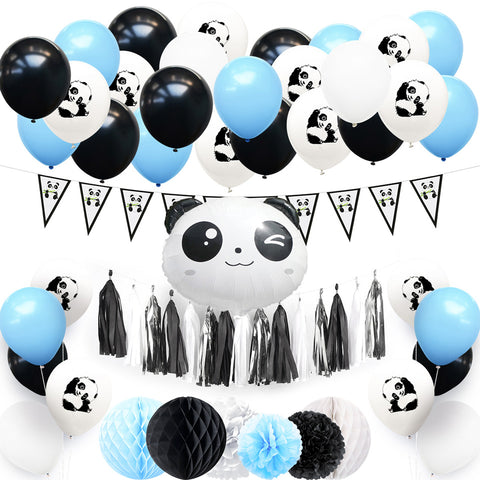Image of Panda Theme Party Decoration Kit
