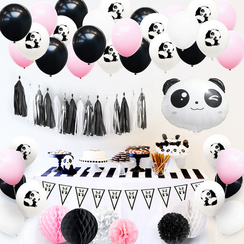 Panda Theme Party Decoration Kit