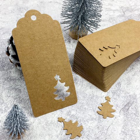 Image of 50 pcs/set Handmade Paper Tags | Nicro Party