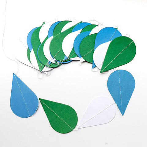 Image of 14 Styles Paper Garland