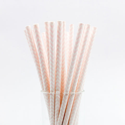 Image of 25 pcs/lot Paper Straws | Nicro Party