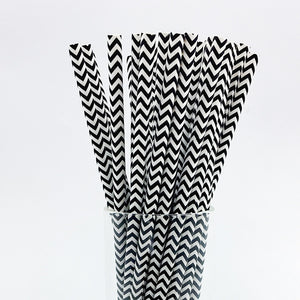 25 pcs/lot Paper Straws | Nicro Party