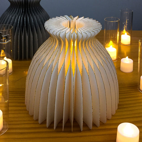 Image of Romantic Paper Vase