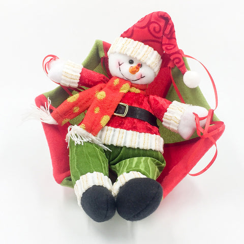 Image of Parachute Santa Claus Smowman | Nicro Party